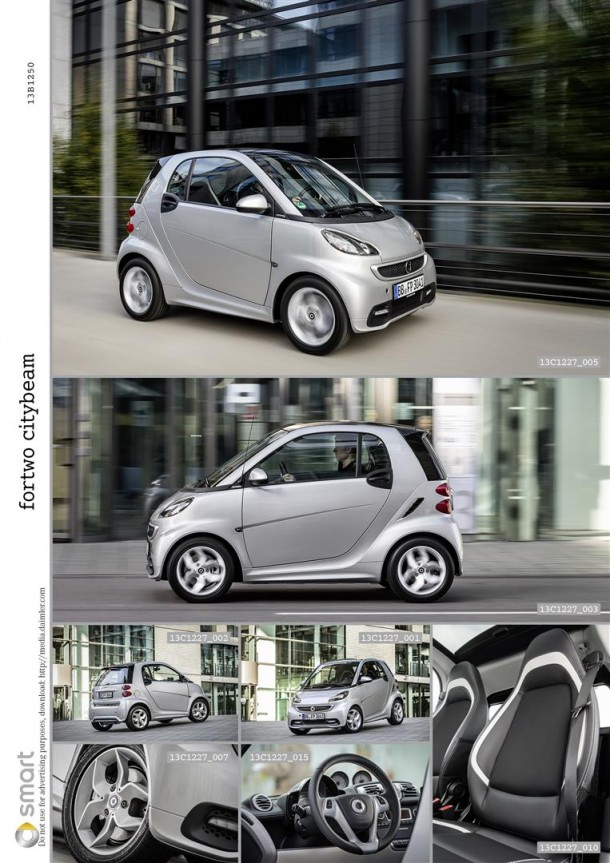 Neues Sondermodell smart fortwo edition citybeam