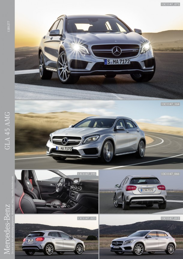 Uus Mercedes-Benz GLA 45 AMG