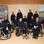 Rugby-Champions auf Rädern – mit Stern auf Titeljagd