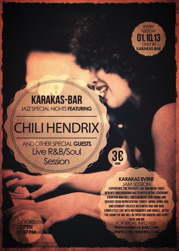 Chili Hendrix @ Karakas