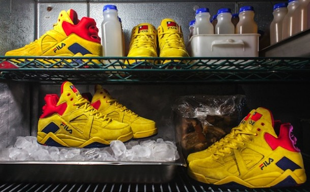 "Die coolsten Sneaker RELEASES 2014 – Baohaus x Fila The Cage ""Bao Beach"""