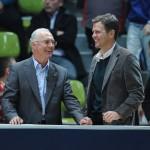 Franz Beckenbauer und Oliver Bierhoff (1)