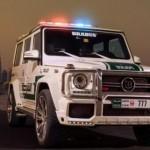 Die krassesten Polizeiautos der Welt – Brabus Mercedes-Benz G63 AMG Joins Dubai Police Fleet