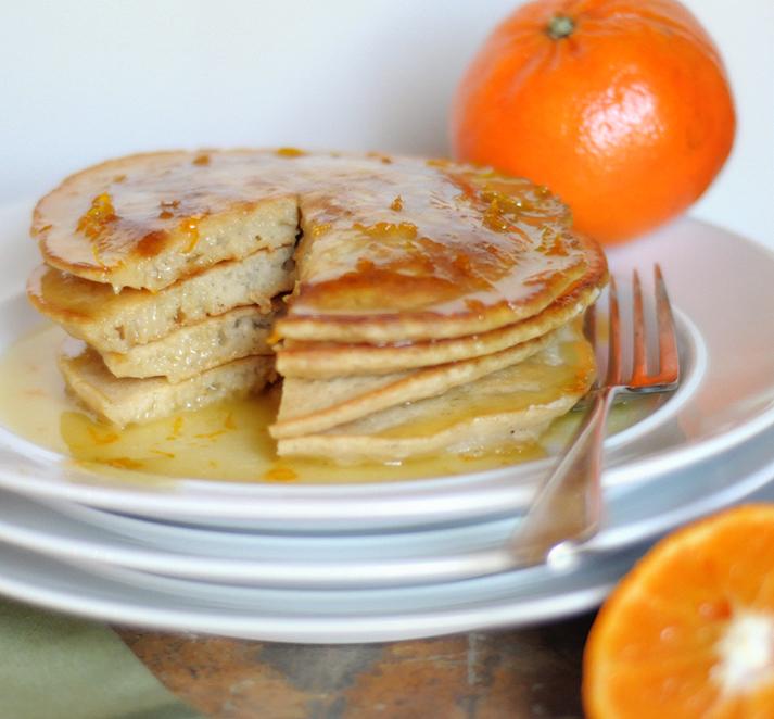 Vegan is awesome | Leckeres Blitzrezept: Vanilla Pancakes zum Frühstück!