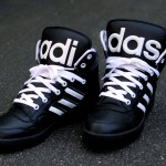Die besten Sneaker des Jahres 2013 – Jeremy Scott x Adidas Originals JS Instinct Hi – Black & White (+English version)