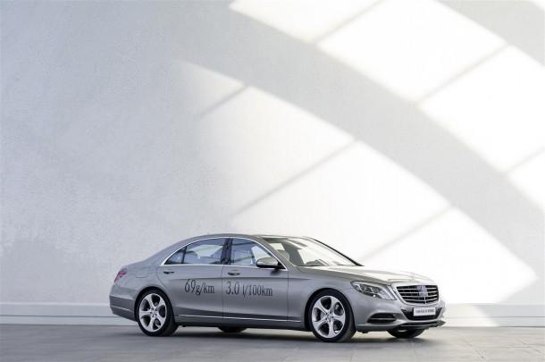 Mercedes-Benz on teel heitevaba sõidu poole - CO2 heitkogused täisgaasil