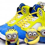 "Die coolsten Sneakers 2013 – Air Jordan 5 ""Minions"" Custom (+English version)"