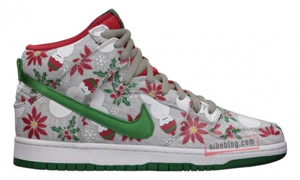 "Die coolsten Sneakers 2013 – Nike SB Dunk High ""Ugly Sweater"" Xmas Collection (+English version)"
