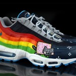 "Die coolsten Sneakers 2013 – Nike Air Max 95 ""Nyan Cat"" by Revive Customs (+English version)"