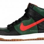 Die coolsten Sneakers 2013 – Nike Sportswear Fall 2009 Dunk Hi Supreme Spark | Gucci Colorway (+English version)