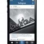 Schweizer Luxusuhren-Hersteller Omega jetzt auch auf Instagram!