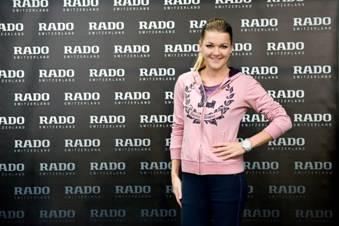 Tennisstar Agnieszka Radwanska ist Rado Markenbotschafterin