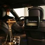 S-Klasse Limousine und die GOLDENE KAMERA