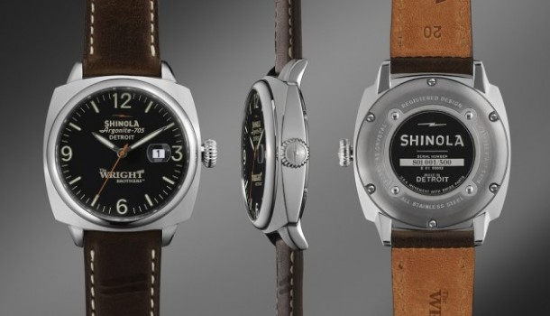 Die schönsten Modeuhren 2013 – Shinola Create Limited Edition Wright Brothers Bike & Watch (+English version)
