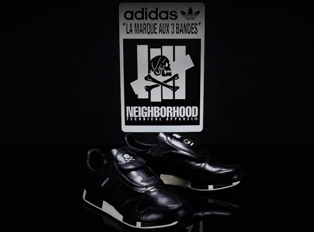 Die schönsten Sneaker 2014: der UNDFTD x Neighborhood x adidas Consortium Micropacer