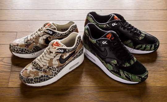 atmos-x-Nike-Air-Max-1-PRM-Camo-Animal-Pack