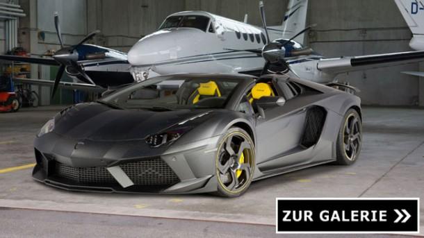 Die schönsten Sportwagen des Jahres – Lamborghini Aventador 'Carbonado' by Mansory