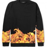 Die schönsten Looks für den Winter – Givenchy Flame-Print Sweatshirt (+English version)