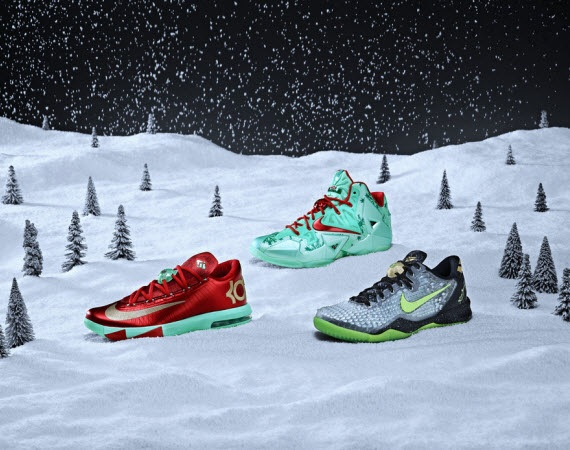 Die schönsten Xmas Sneaker – Nike LeBron Xmas Collection (+English version)