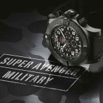 Die schönsten Herren Luxusuhren 2013/14 – BREITLING SUPER AVENGER MILITARY LIMITED EDITION (+English version)