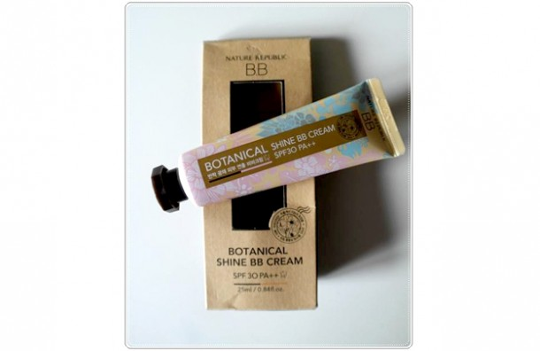 "Beauty Review | NATURE REPUBLIC ""Botanical Shine BB Cream"""