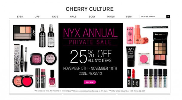 Beauty-On-A-Budget – 25% OFF NYX Produkte (+English Version)