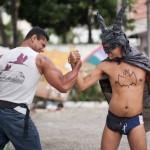 Batman des Armenviertels