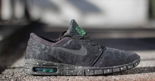 Nike Janoski Grau Schwarz