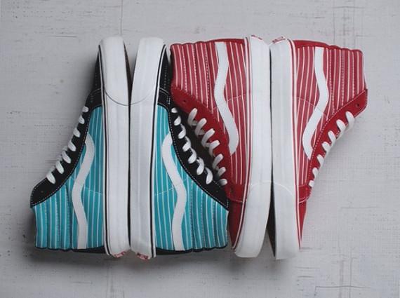 """Die schönsten Sneaker 2014: Vans Vault OG Sk8-Hi LX """"Stripes"""" Pack"""