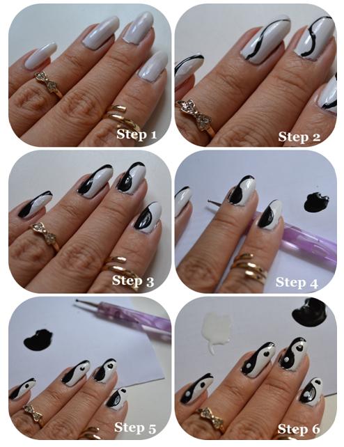 yin yang nails 2