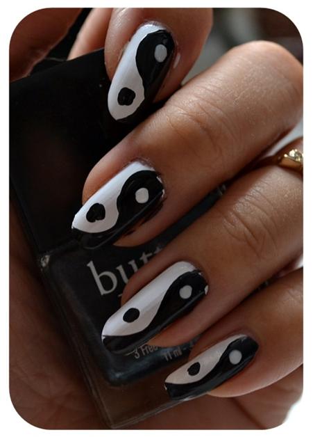 yin yang nails 3