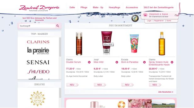 Beauty on a Budget | High-End-Hautpflegeprodukte günstig ersteigern auf Zentraldrogerie.de!